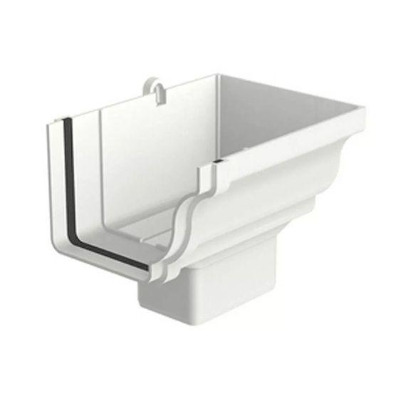 Bocal Aquapluv Style Retangular Direito Branco