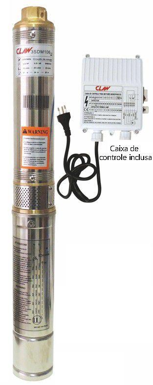 Bomba Claw Submersa Caneta .3SDM109 - 1/2CV