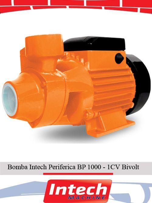 Bomba Intech Periferica BP 1000 - 1CV Bivolt
