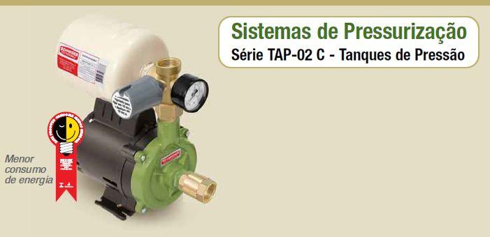 Bomba Schneider Pressurizada TAP-02C - 1/2CV