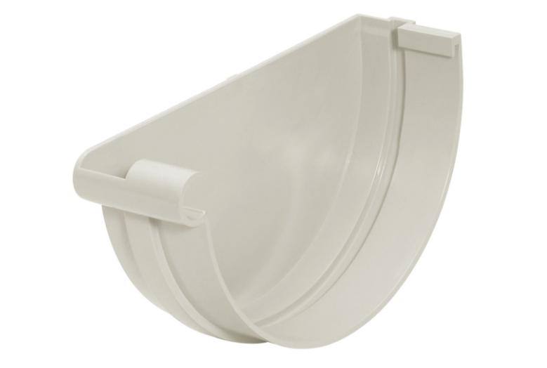 Cabeçeira PVC Pluvial Esquerda - Cinza