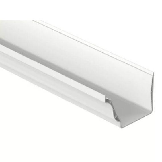 Calha Aquapluv Style Branca 132mm (3mt)