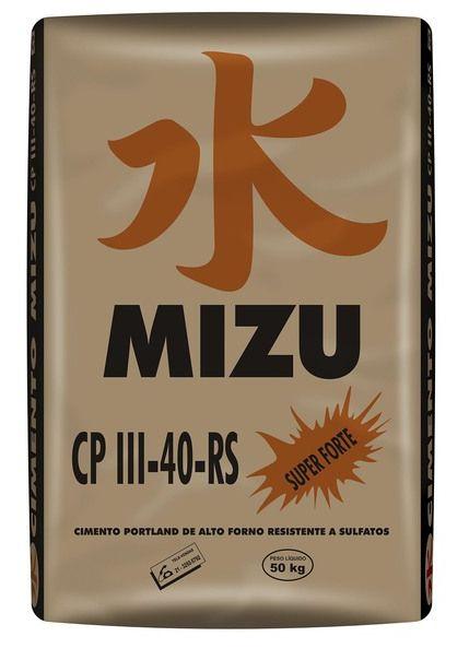 Cimento Mizu CP-III-40 - 50Kg
