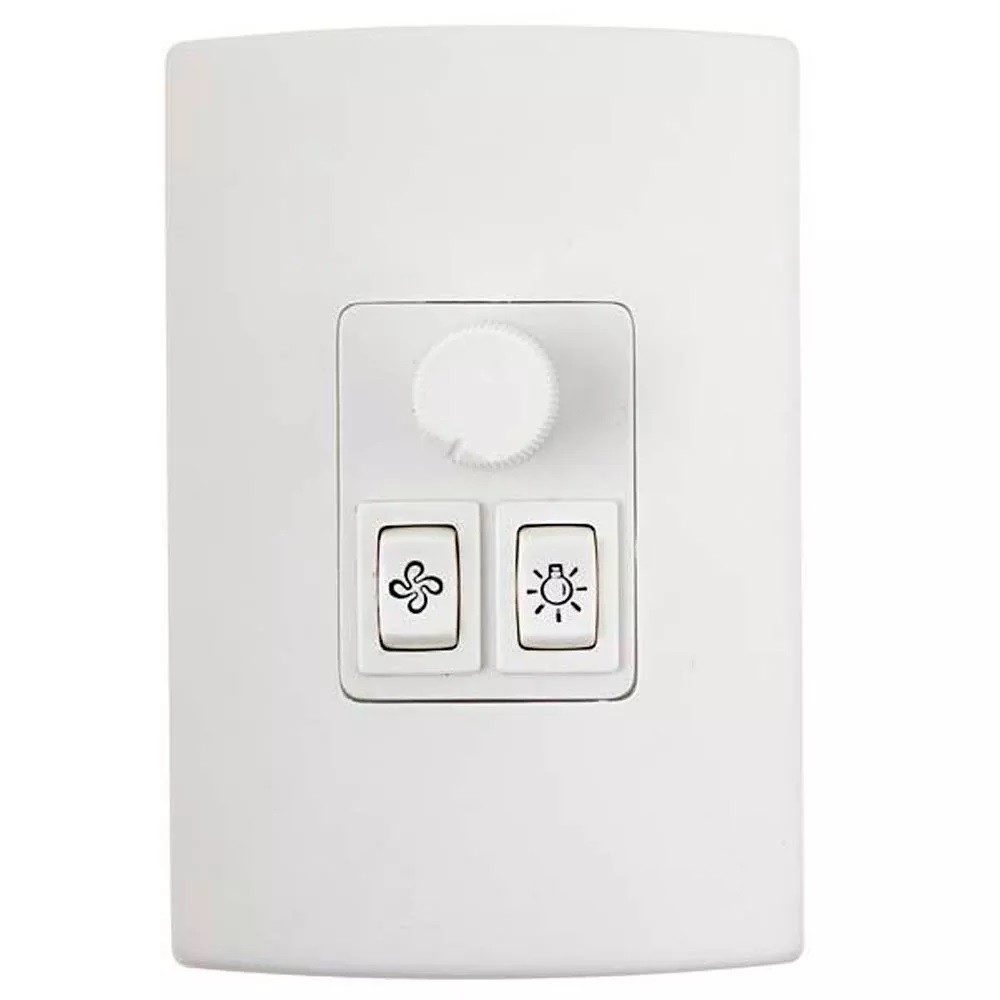 Controle de Ventilador Rotativo + 1 Lâmpada