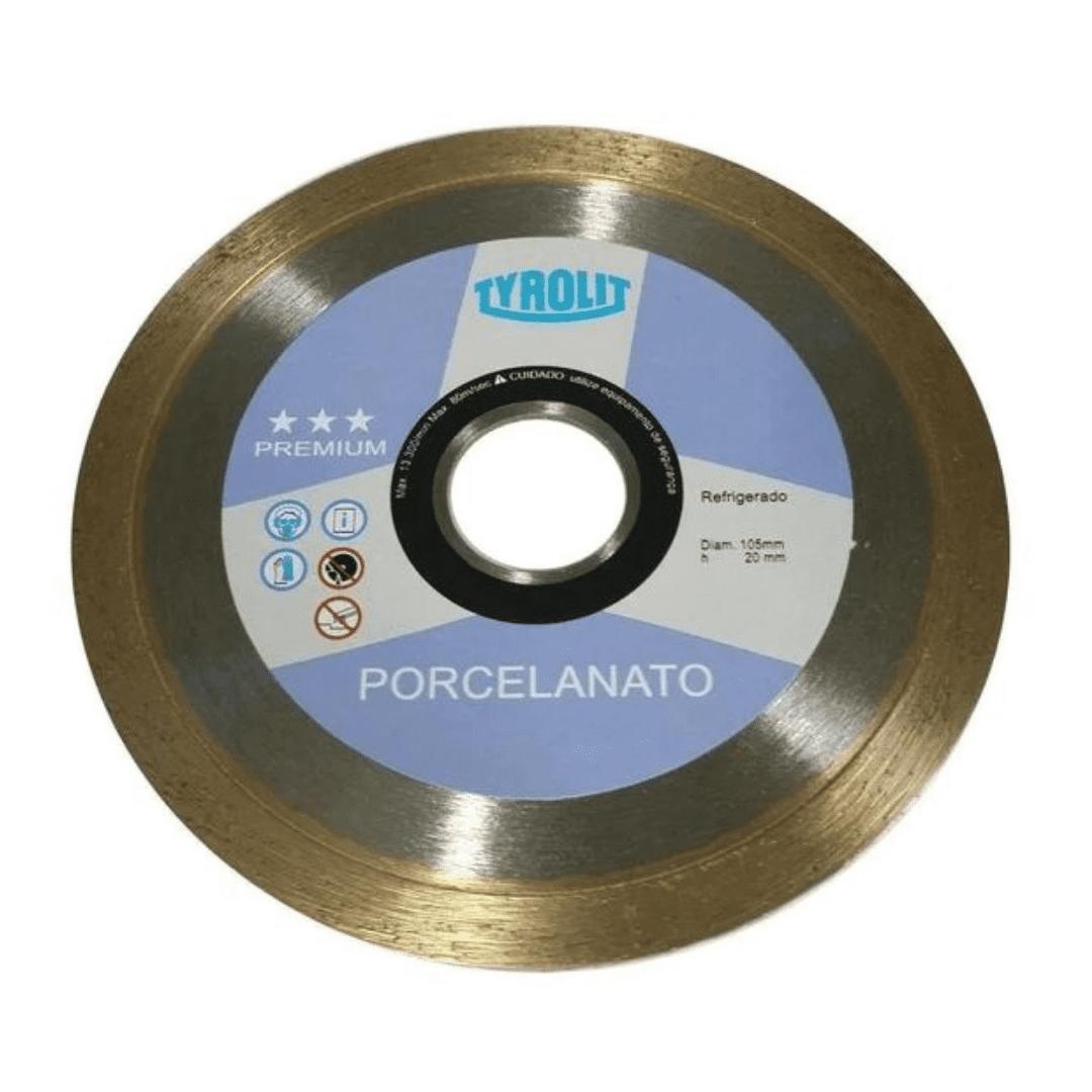 Disco Diamantado Liso Porcelanato