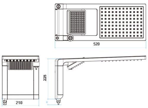 Ducha Lorenzetti Acqua Duo Ultra BK/CR Voltagem: 127V X 5500W