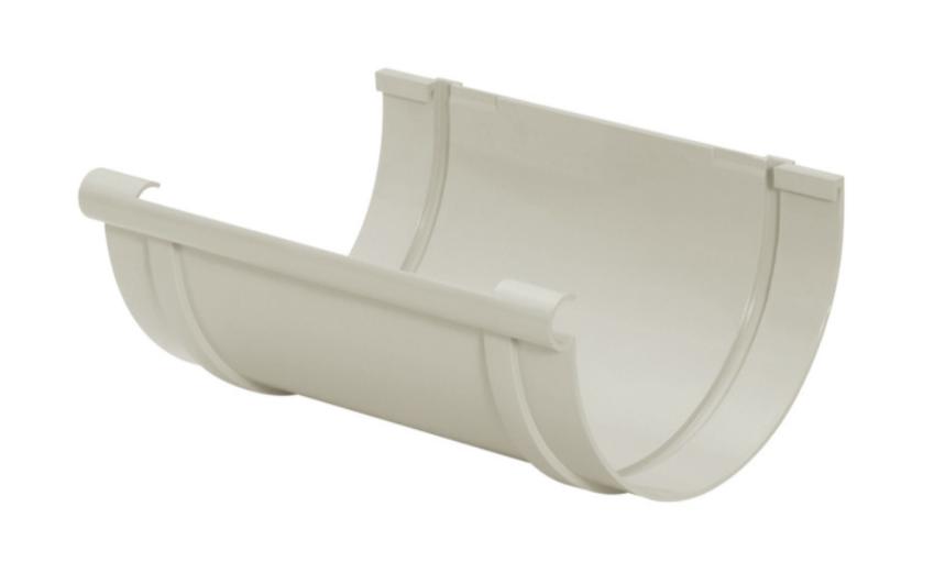 Emenda PVC Pluvial - Cinza