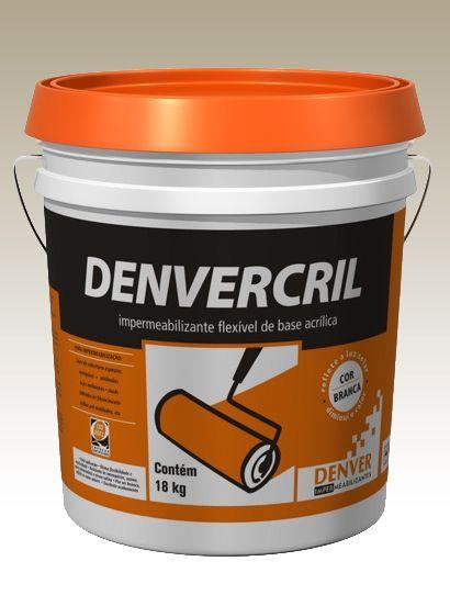 Impermeabilizante Denvercril Branco - 18Kg