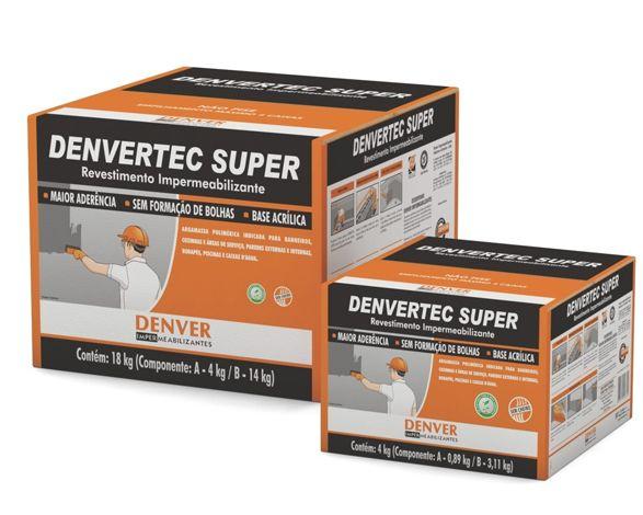 Impermeabilizante Denvertec Super Caixa - 18Kg
