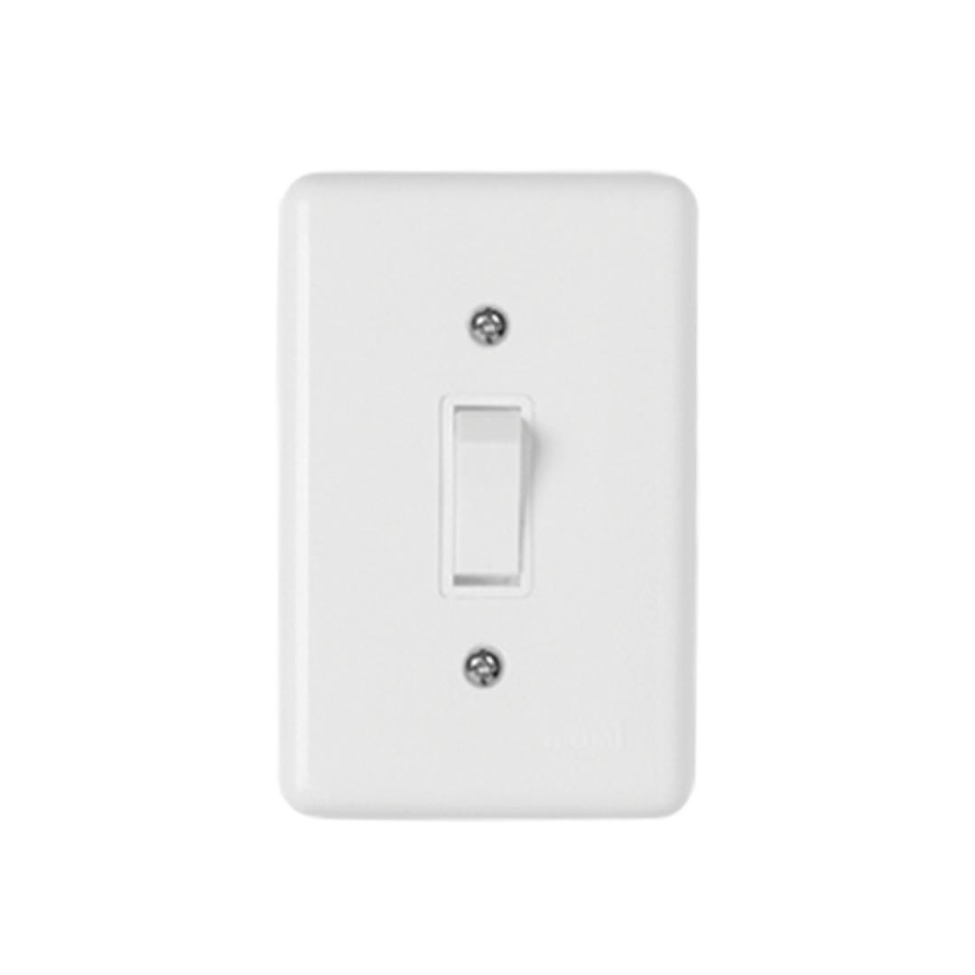 Interruptor Ilumi Stylus 1 Seção com Placa - Ref. 2017