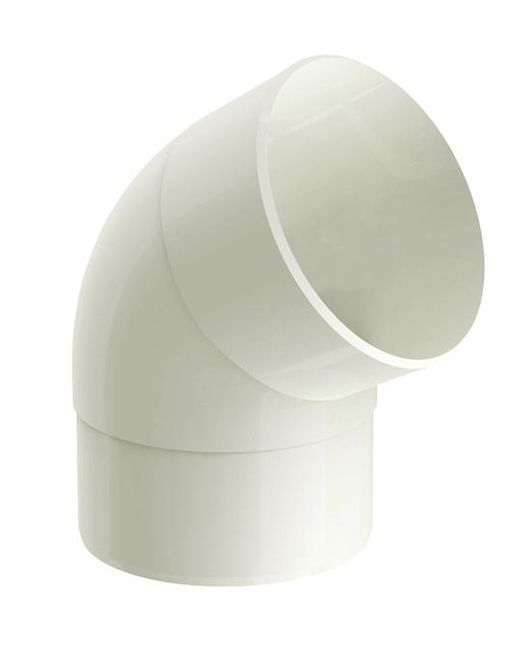 Joelho 60 Aquapluv Circular Bege