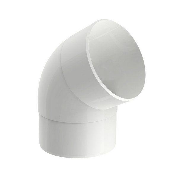 Joelho 60 Aquapluv Style Circular Branco