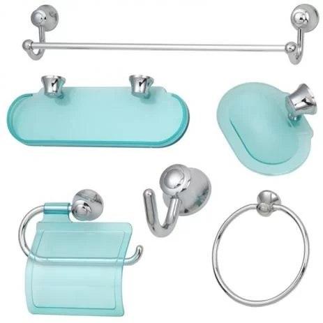 Kit Banheiro em Plastico (5Pc) - Bello Bagno (Novosol)