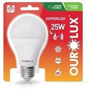 Lampada Ourolux Super Led 25W Bivolt