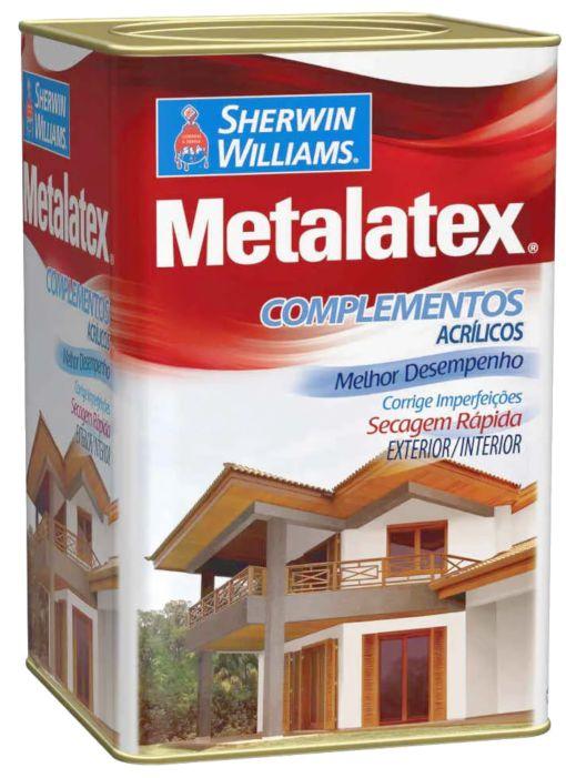 Massa Metalatex Acrilica Exterior