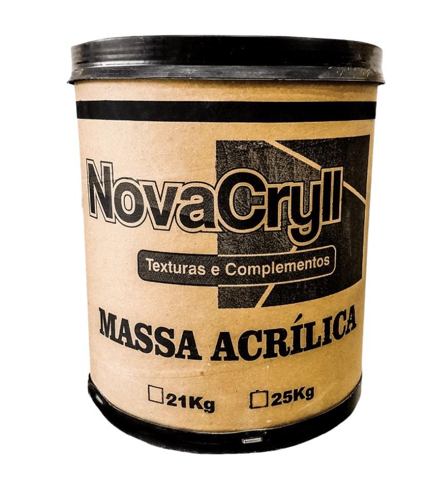 Massa NovaCryll Acrílica Interior - Barrica 21Kg