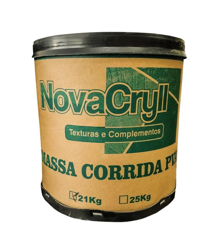 Massa NovaCryll Corrida (PVA) Interior - Barrica 21Kg