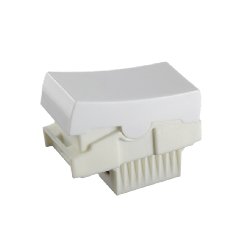 Modulo Ilumi Slim Interruptor Bipolar Branco 10A