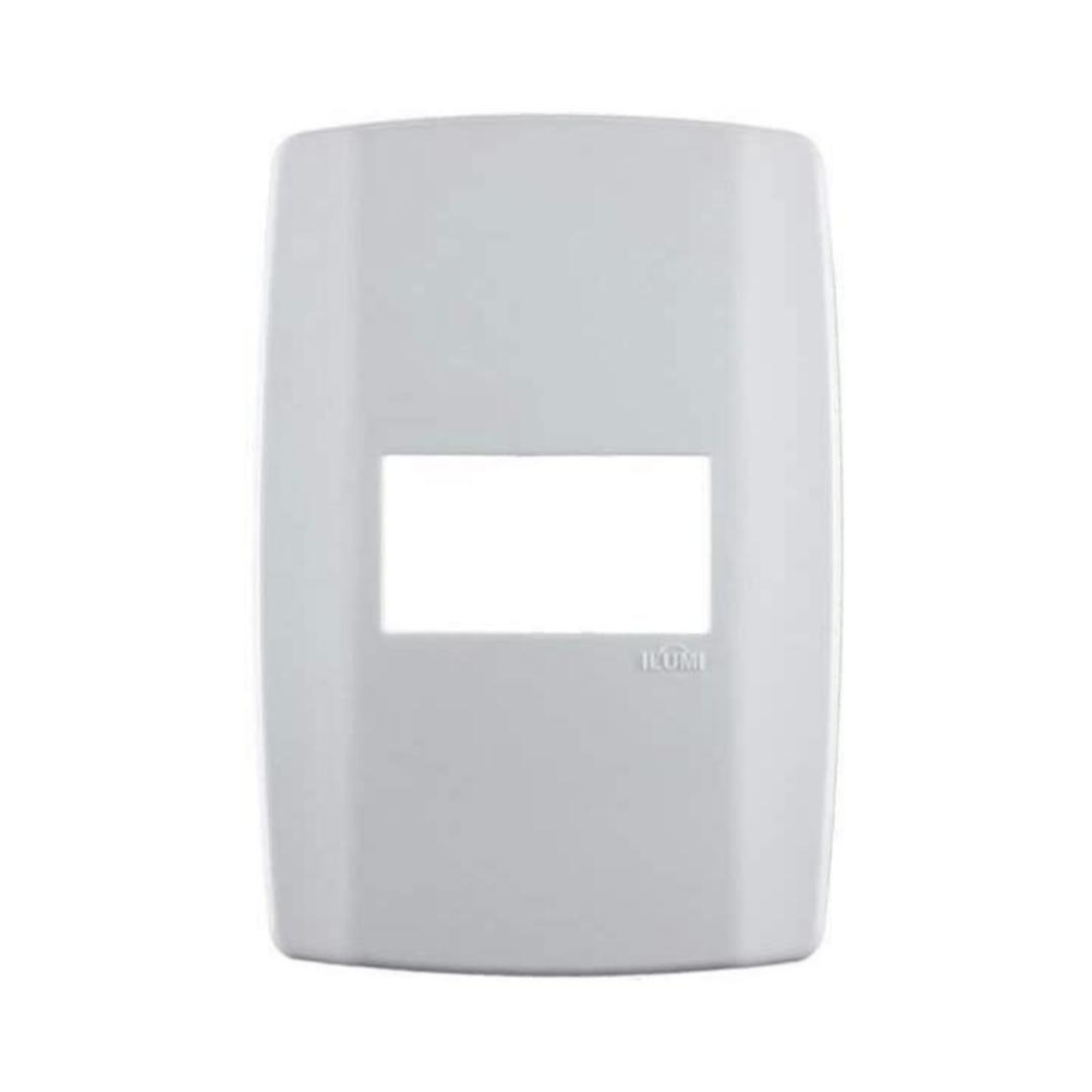Placa Ilumi Slim 4 X 2 com 1 Elemento Horizontal - Ref. 8207