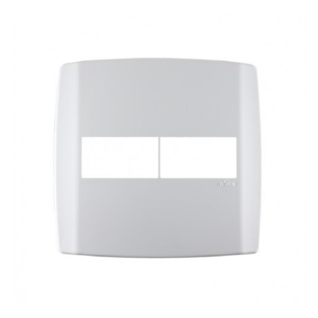 Placa Ilumi Slim 4 X 4 com 2 Elementos Separados - Ref. 8306