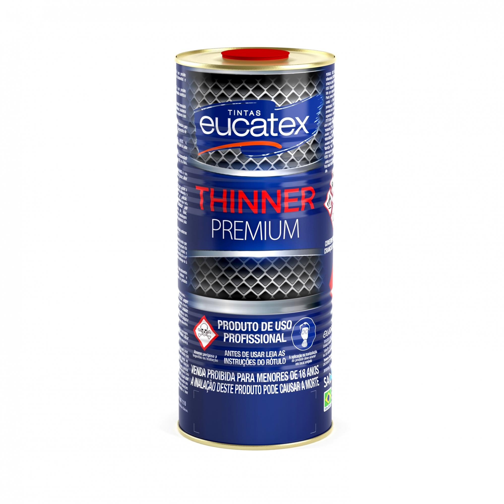 Redutor Eucatex Thinner Premium 9800 - 0,9L (Acabamento)