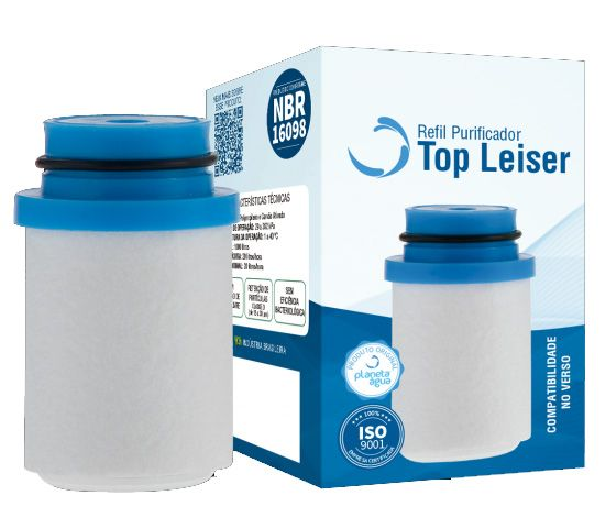 Refil Top Leiser Azul