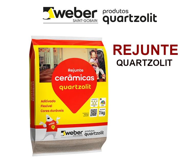 Rejunte Quartzolit Flexivel 1Kg