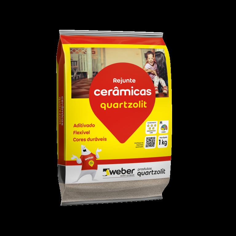 Rejunte Quartzolit Flexivel 1Kg - Caramelo