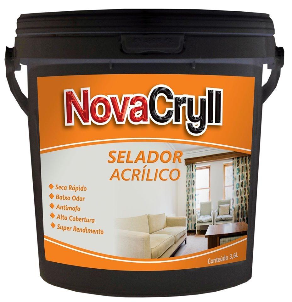 Selador NovaCryll Acrílico Interior cor Branca - 3,6L