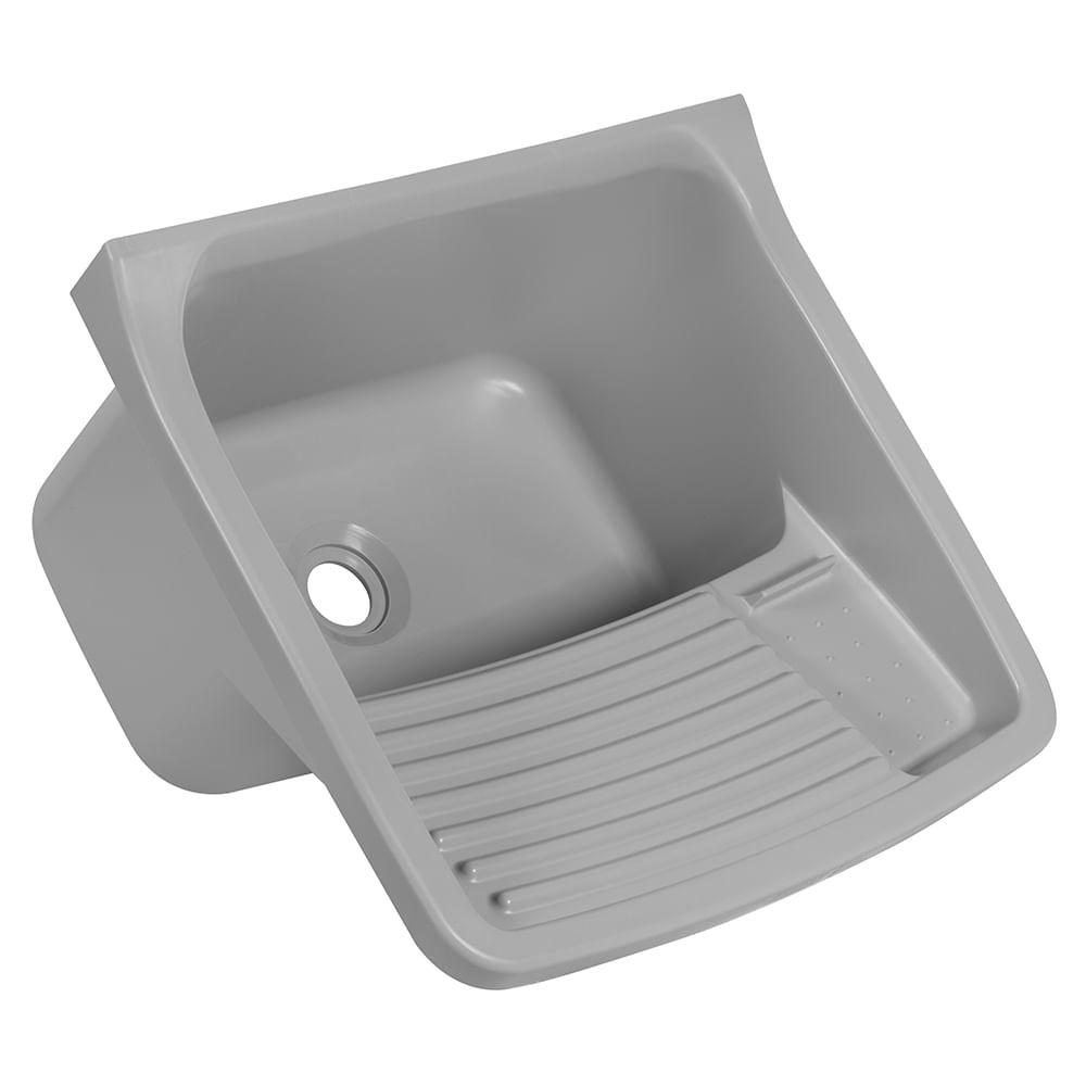 Tanque Plastico Astra 13/22 Litros (47 X 43 X 27cm) - Cinza 2 (CZ2)