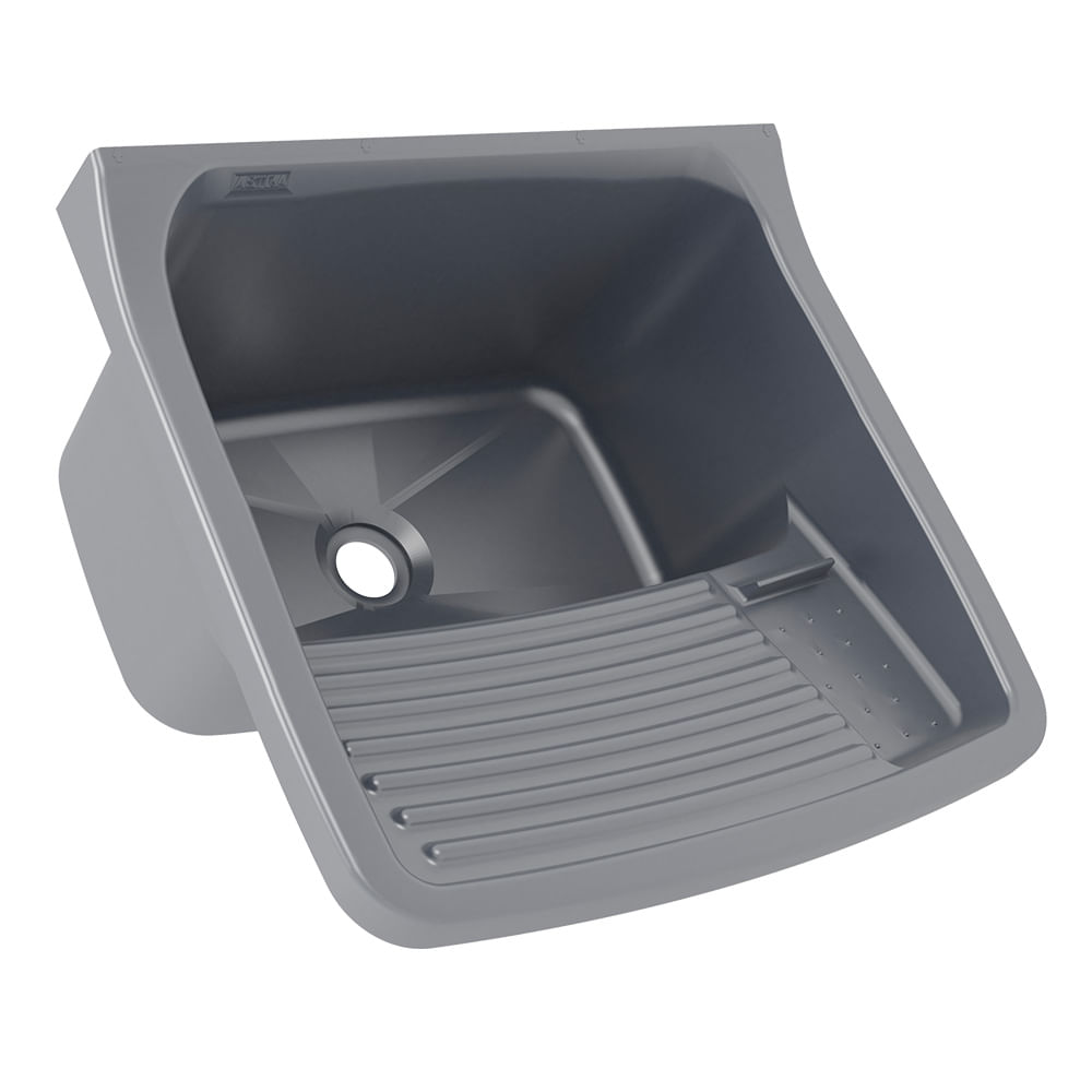 Tanque Plastico Astra 23/40 Litros (58 X 52 X 32cm) - Prata (PRA)