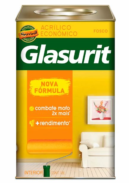 Tinta Glasurit Economica Fosco 18L