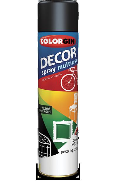 Tinta Spray Colorgin Decor Multiuso 360ml