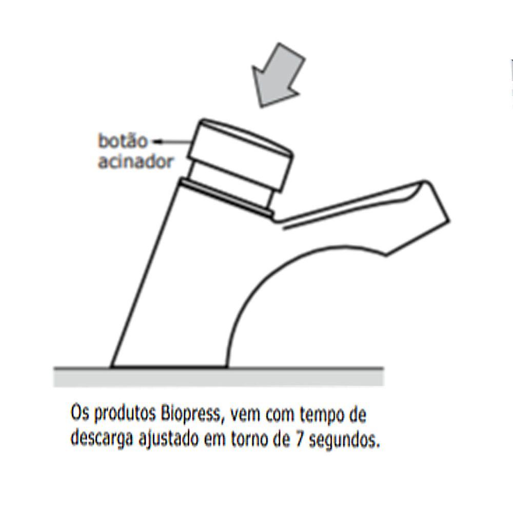 Torneira Fabrimar Lavatorio 1180 Biopress