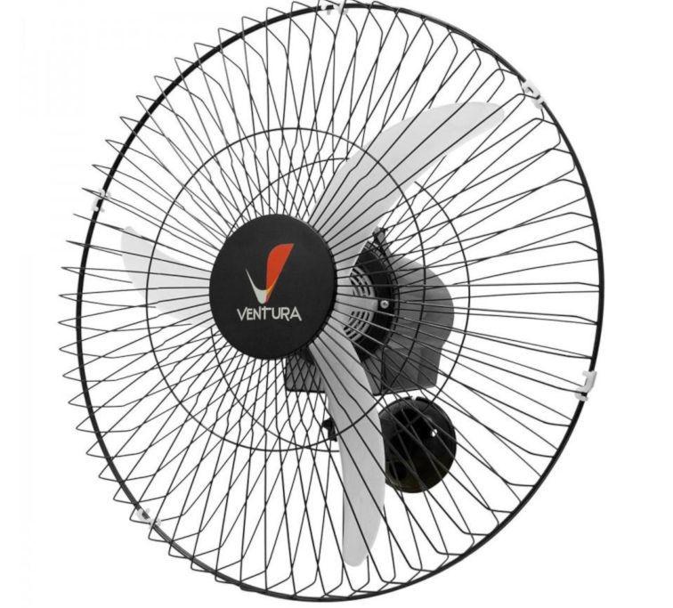 Ventilador Venti-Delta Parede Ventura 60cm Preto Bivolt