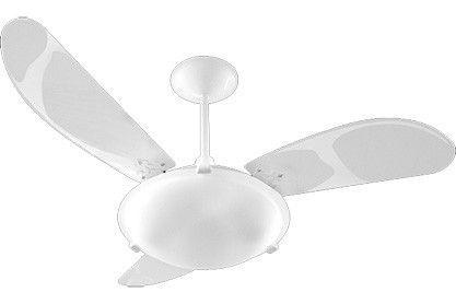 Ventilador Venti-Delta Teto Angra Branco 3 Pas - 127V