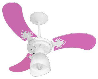 Ventilador Venti-Delta Teto New Baby Colors  3 Pas - 127V