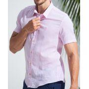 Camisa Ankor de Linho - Rosa