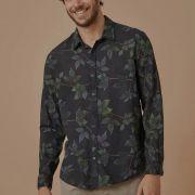 Camisa Foxton de Linho ML Hame Sitio Preto