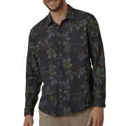 Camisa Foxton ML Hame Sitio - Preta