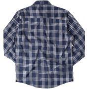 Camisa Von Der Volke de Linho ML Xadrez - Azul