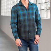 Camisa Von Der Volke Xadrez ML Chess Azul