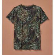 Camiseta Foxton Estampada Folha