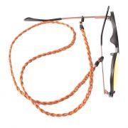 Cordão para Óculos Couro Caramelo