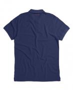 Polo Von Der Volke Piquet Stone - Azul Marinho