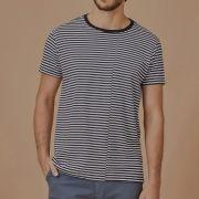 T-shirt Foxton Listrada Recorte Design