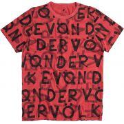 T-shirt Von Der Volke VDV Multiply - Vermelha