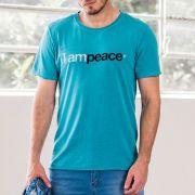 T-shirt Von Der Volke I Am Peace Turquesa