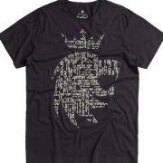T-shirt Von Der Volke Leão Name - Preta
