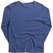 T-shirt Von Der Volke ML Waffle Stone Azul